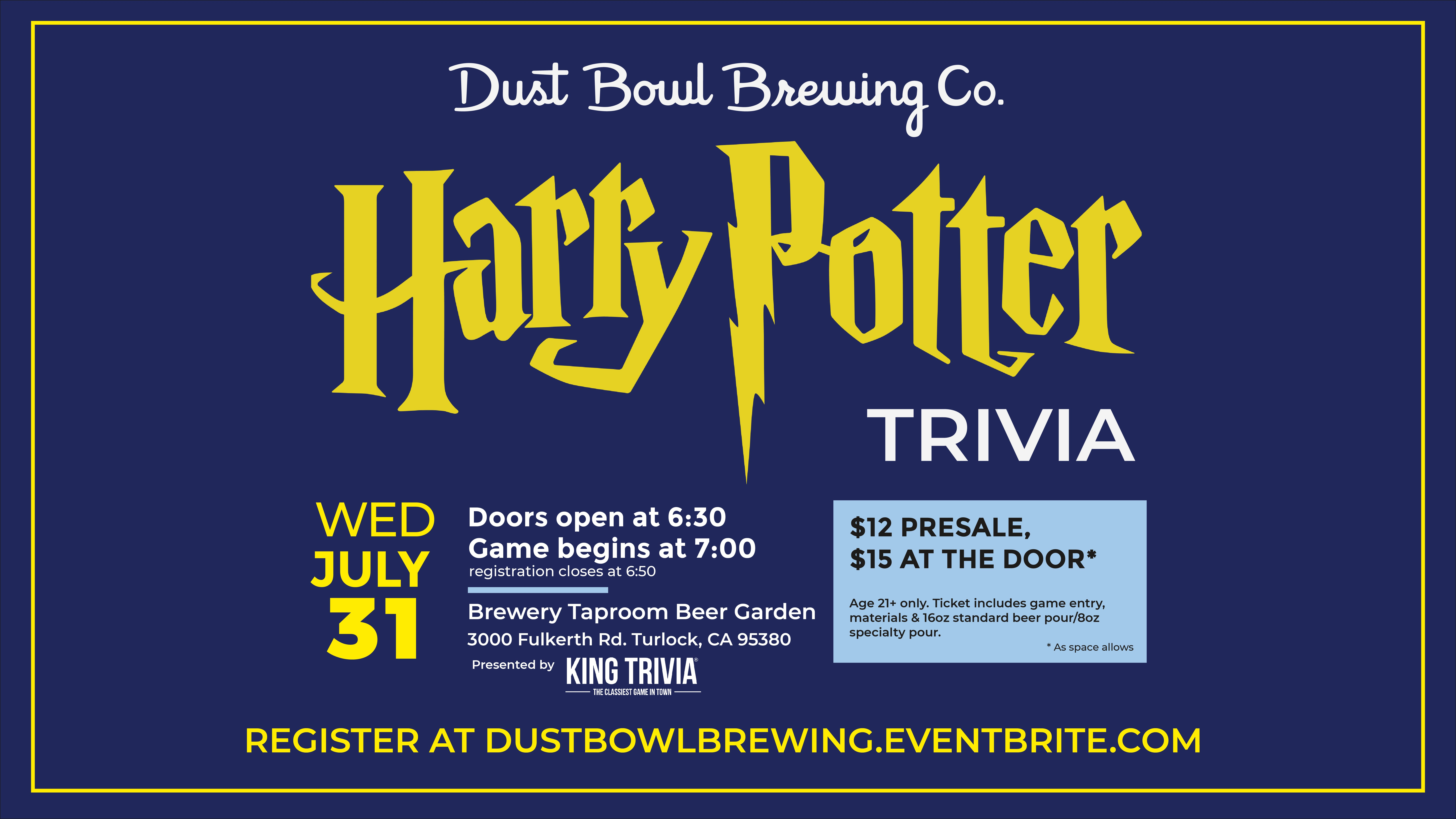 Brewery & Taproom – Dust Bowl Brewing Company